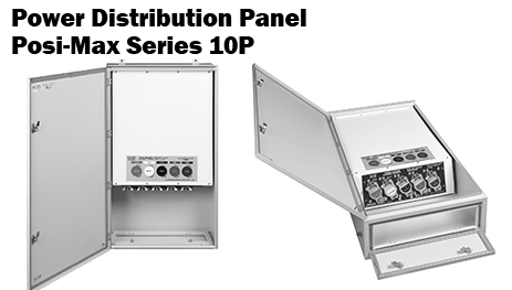 Posi-Max Series 10P Power Distribution Panel